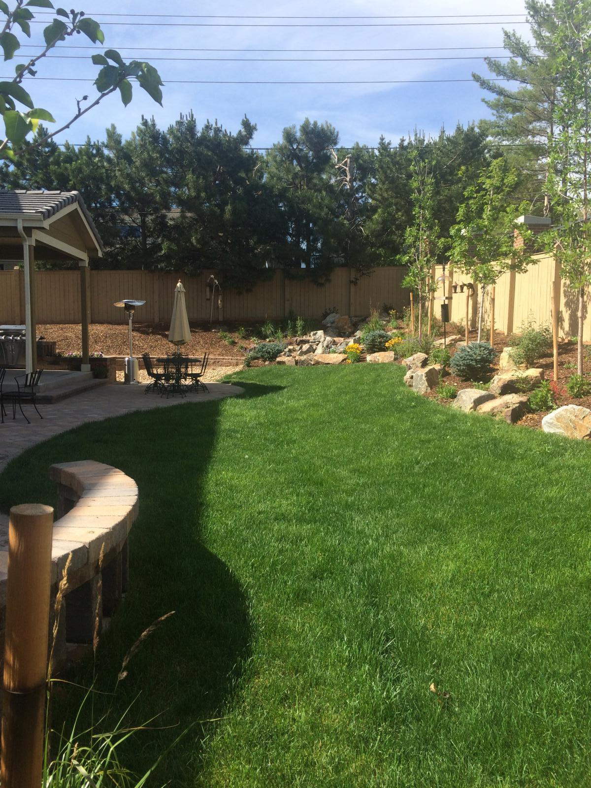 lone tree landscaping and sprinkler services